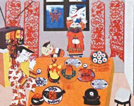 2003年春节联欢晚会flash的开场片头