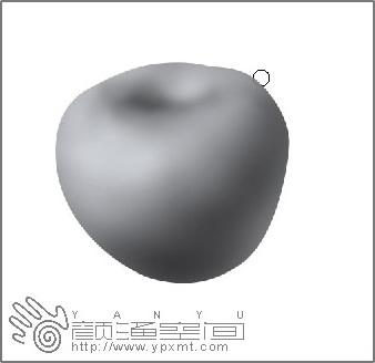 手绘苹果教程