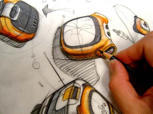 刘传凯产品设计手绘
