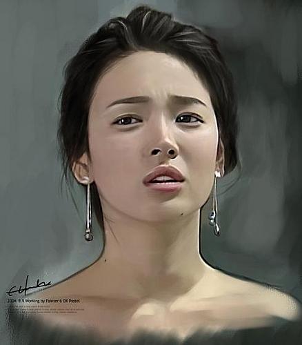 韩流明星素描