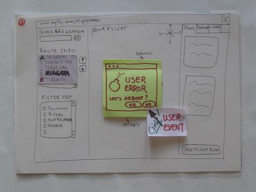 使用纸面原型进行可用性研究 - CQ - CQ点滴