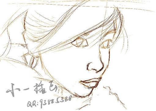 手绘人物插画 - 手绘教程