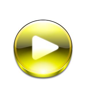 晶莹剔透的质感按钮icon制作