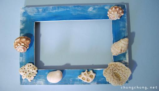 边框简单又漂亮手绘海底动物