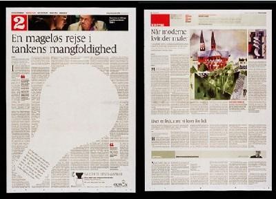 国外新闻报纸排版布局设计欣赏