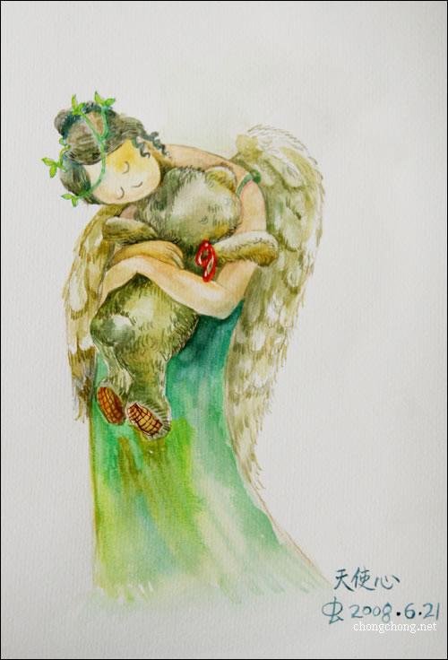 虫虫手绘教程:画人/临摹/水彩