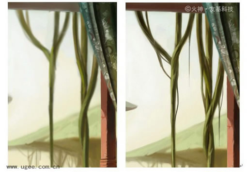 菊花宝典大赏大奖教程《阳台》 - 手绘教程 - 蓝色理想