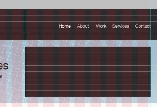 使用960栅格系统设计简洁网站