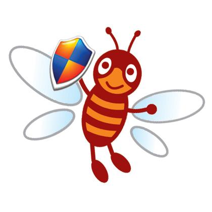 还有飞翔的翅膀体现了快捷;蜜蜂和蚂蚁都是辛勤无私
