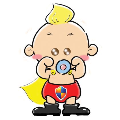 支付宝卡通设计大赛 - 支付宝宝超人 - 蓝色理想