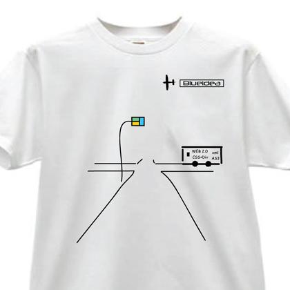 2007蓝色理想t恤图案设计大赛