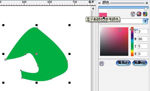 CorelDraw填色技巧不完全图解手册 - 月牙泉 - 月牙泉